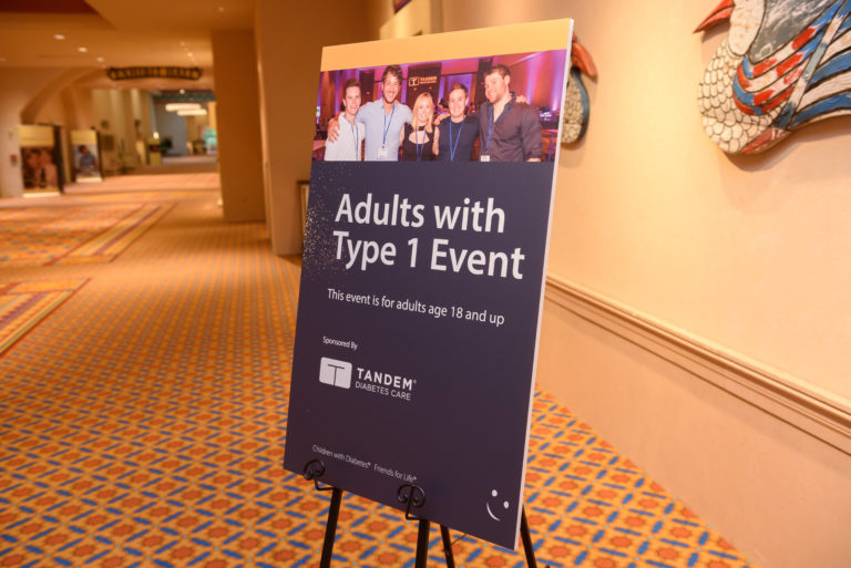 Adults with T1D